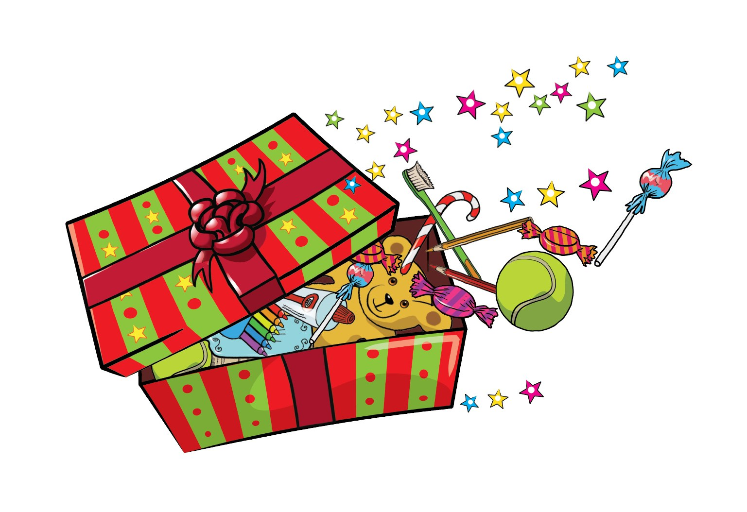 Operation christmas child shoebox clipart 4 » Clipart Portal.