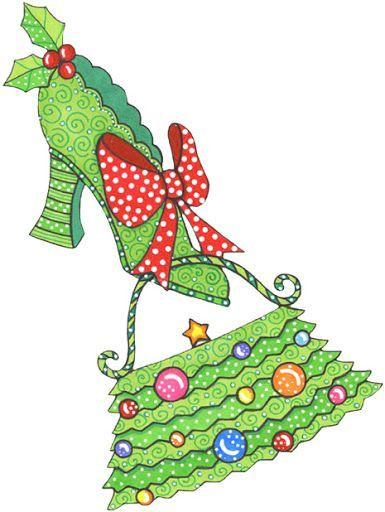 Christmas shoes clipart 3 » Clipart Portal.