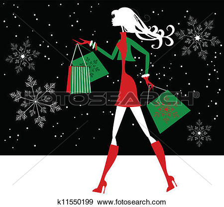 Xmas shopping Clip Art Royalty Free. 11,585 xmas shopping clipart.