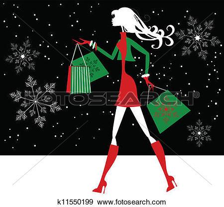 Xmas shopping Clip Art Royalty Free. 11,585 xmas shopping clipart.