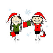 Christmas shopping Clip Art Royalty Free. 19,587 christmas.