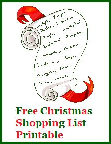 25+ best ideas about Christmas Shopping List on Pinterest.