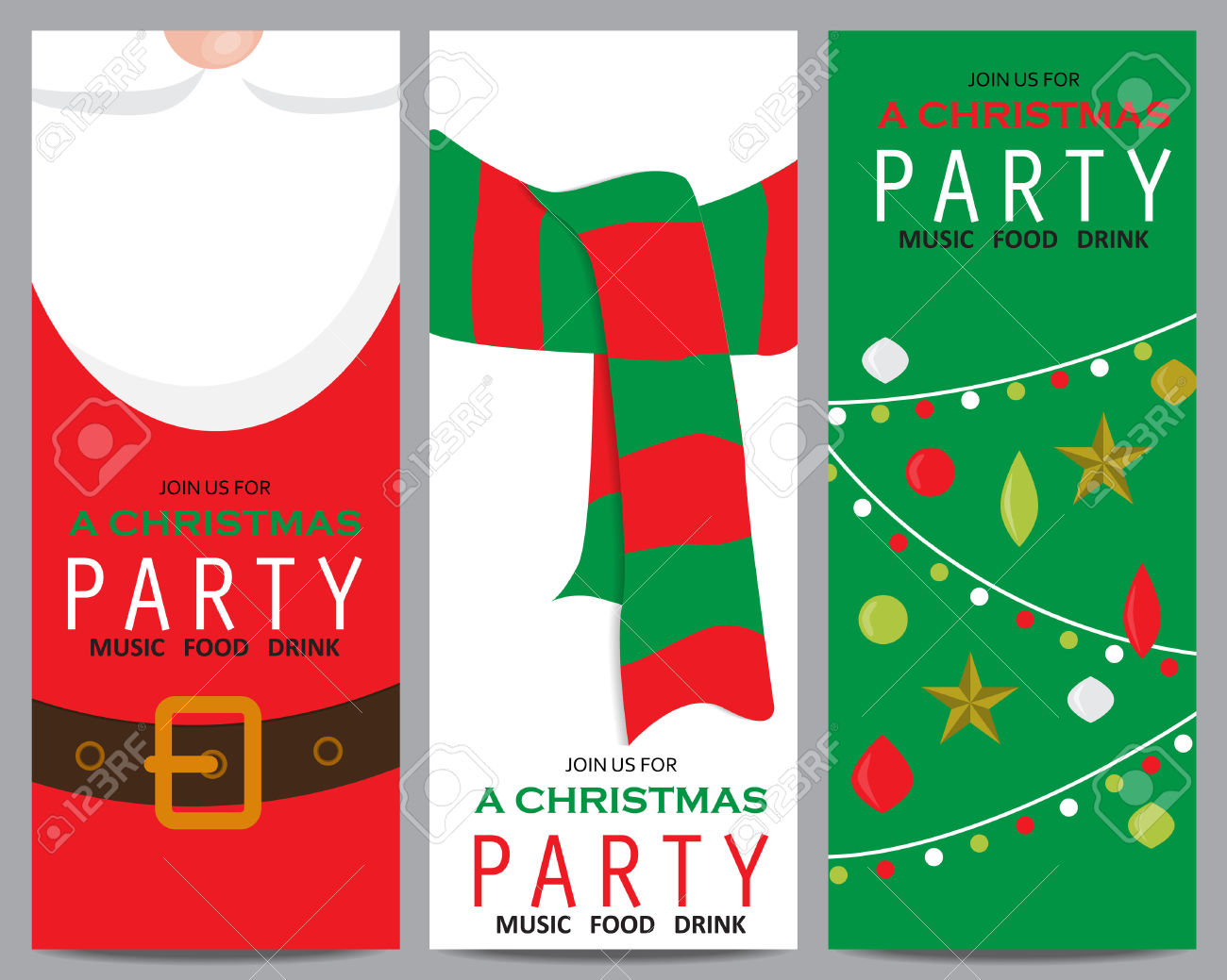 contemporary free holiday party invitations templates crest