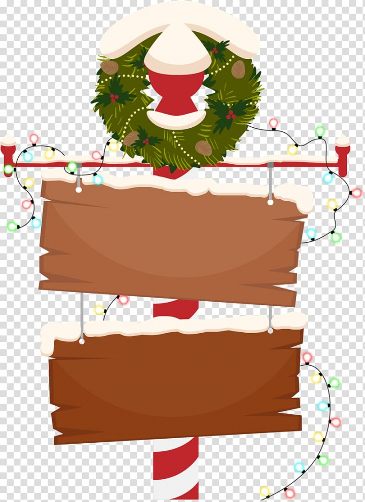 Christmas Sign New Years Day Wish, Christmas cartoon wooden.