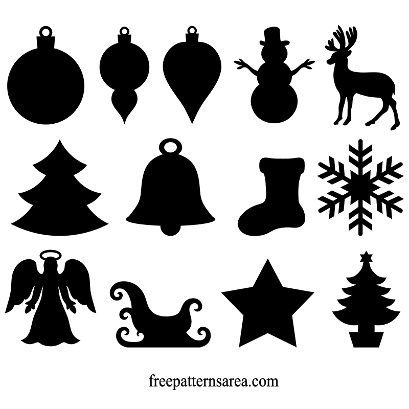 Winter And Christmas Ornament Vector.