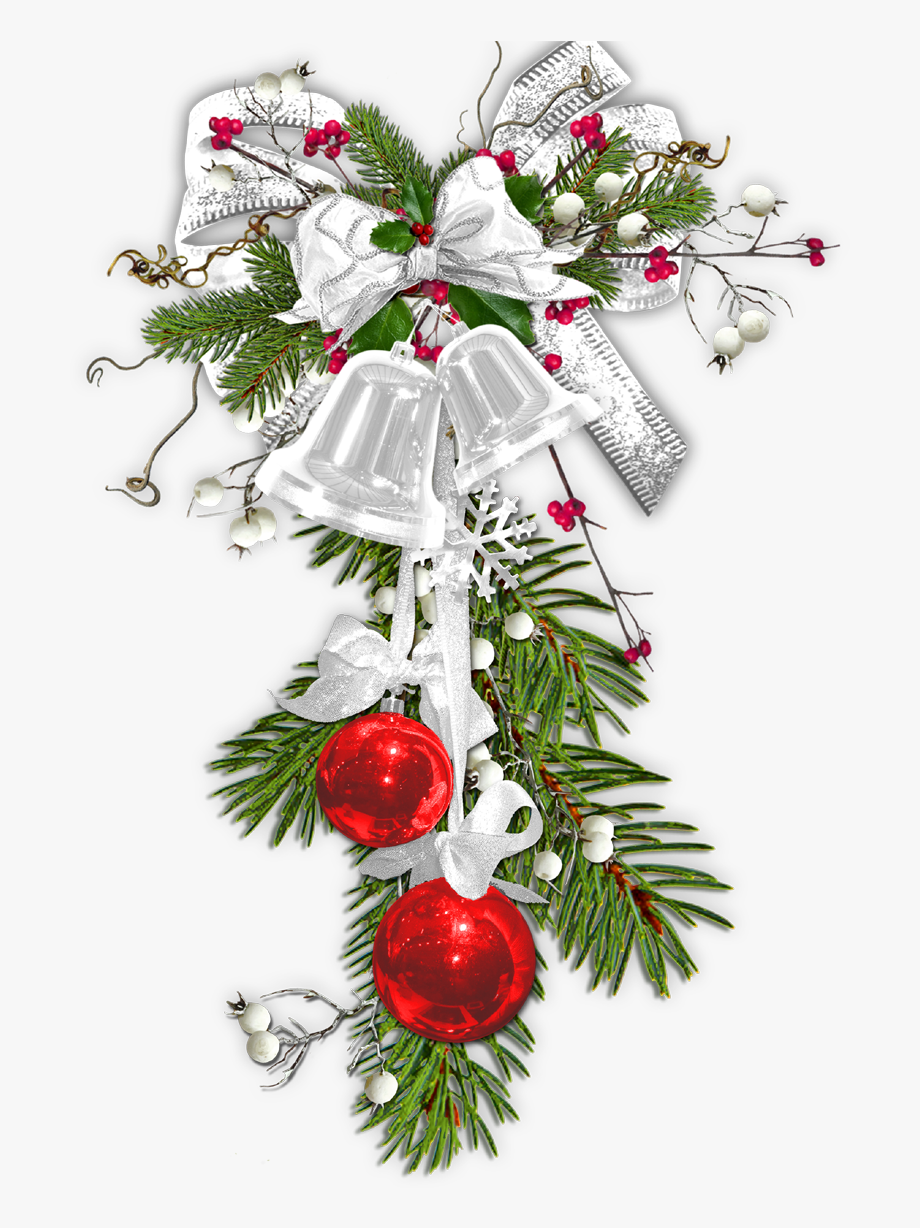 Christmas Clipart Silver Bells.