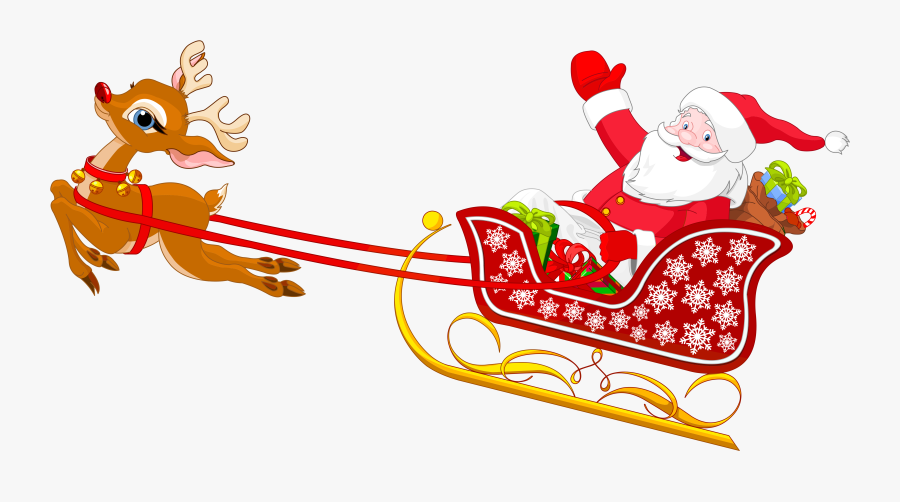 Clip Art Santa Sleigh Clip Art.