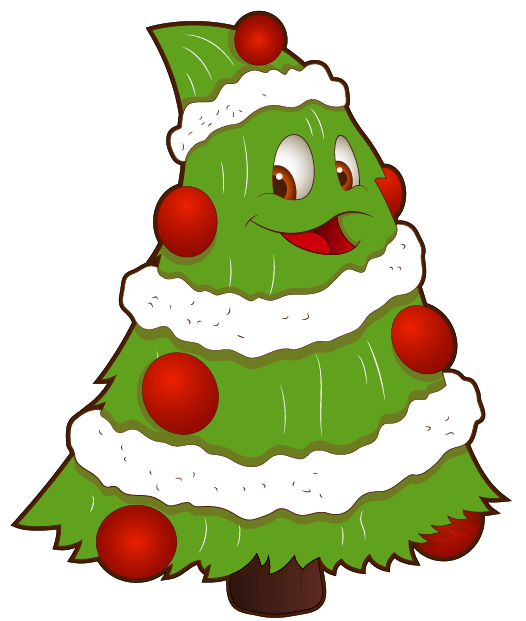 Transparent Funny Small Christmas Tree PNG Clipart Gallery.
