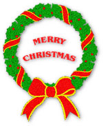 Free Christmas Wreaths Clipart.