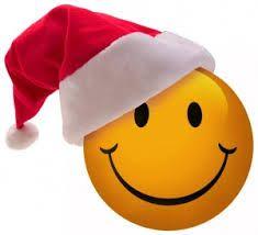 Santa Smiley Face ….