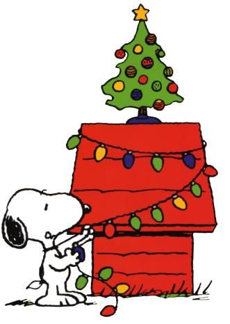 Snoopy Christmas Clipart.