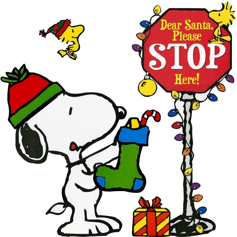 Christmas Clipart Snoopy Golf.