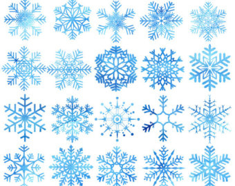 Christmas clip art snow.