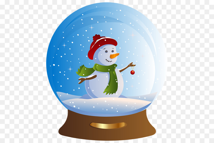 Christmas Snow Globe clipart.
