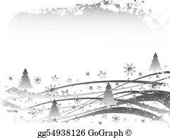 Snow Scene Clip Art.