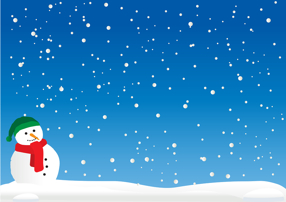Christmas Cold Landscape.