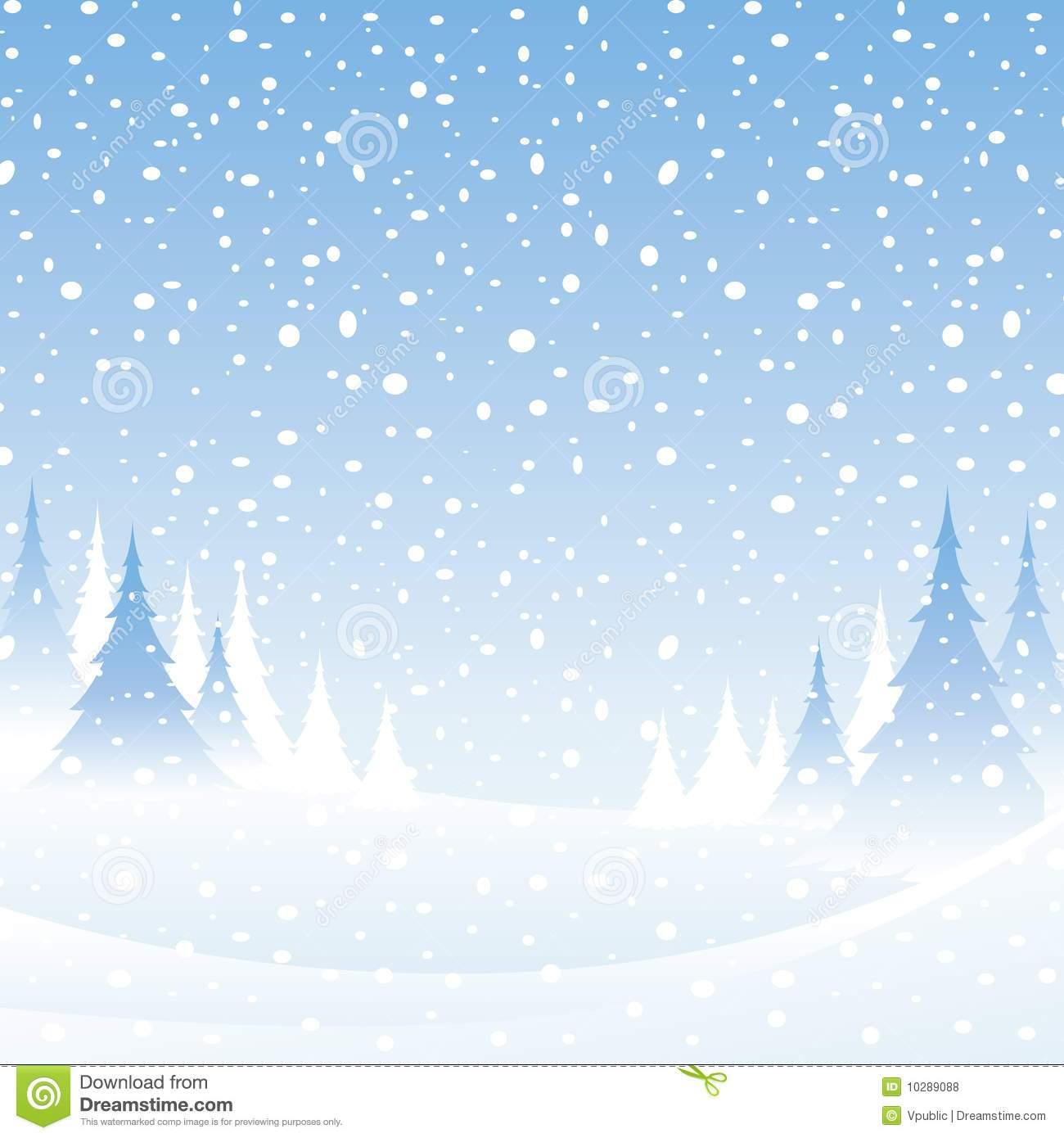 Christmas snow scene clipart 1 » Clipart Portal.