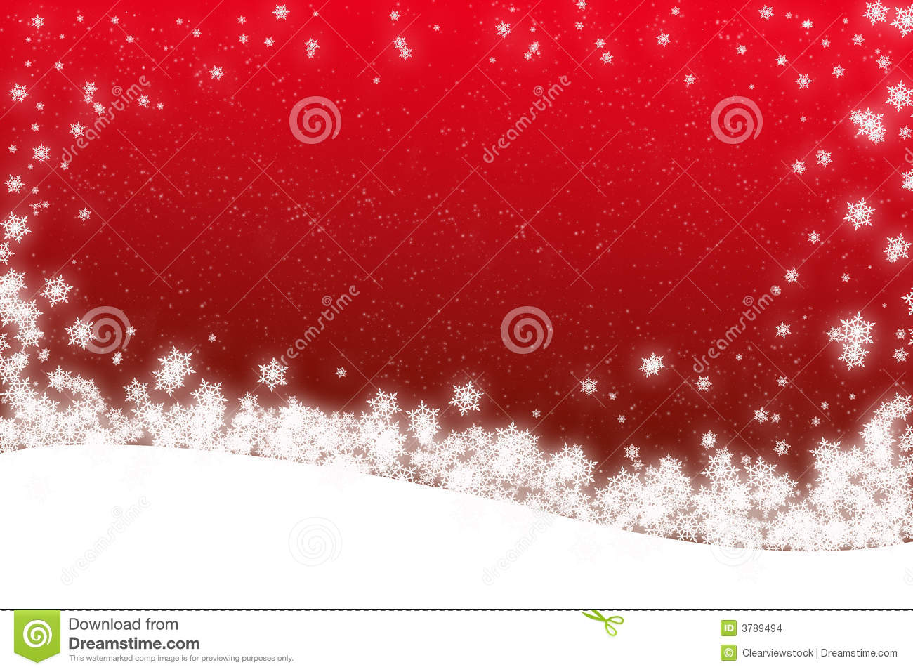 Christmas Snow scene card stock illustration. Illustration of.