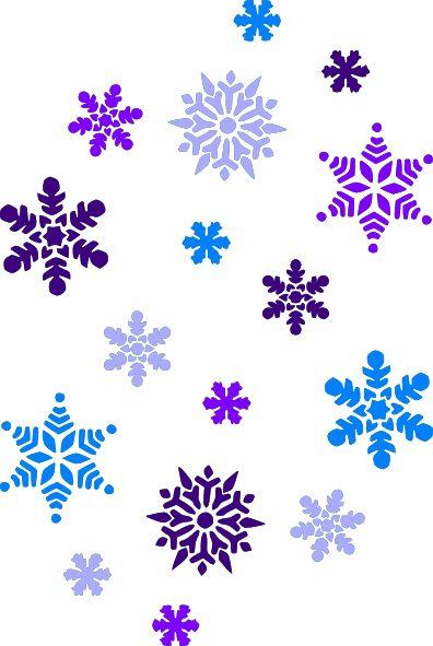 Free Christmas Snowflake Clipart.