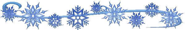 Snowflake Border Clipart Free.