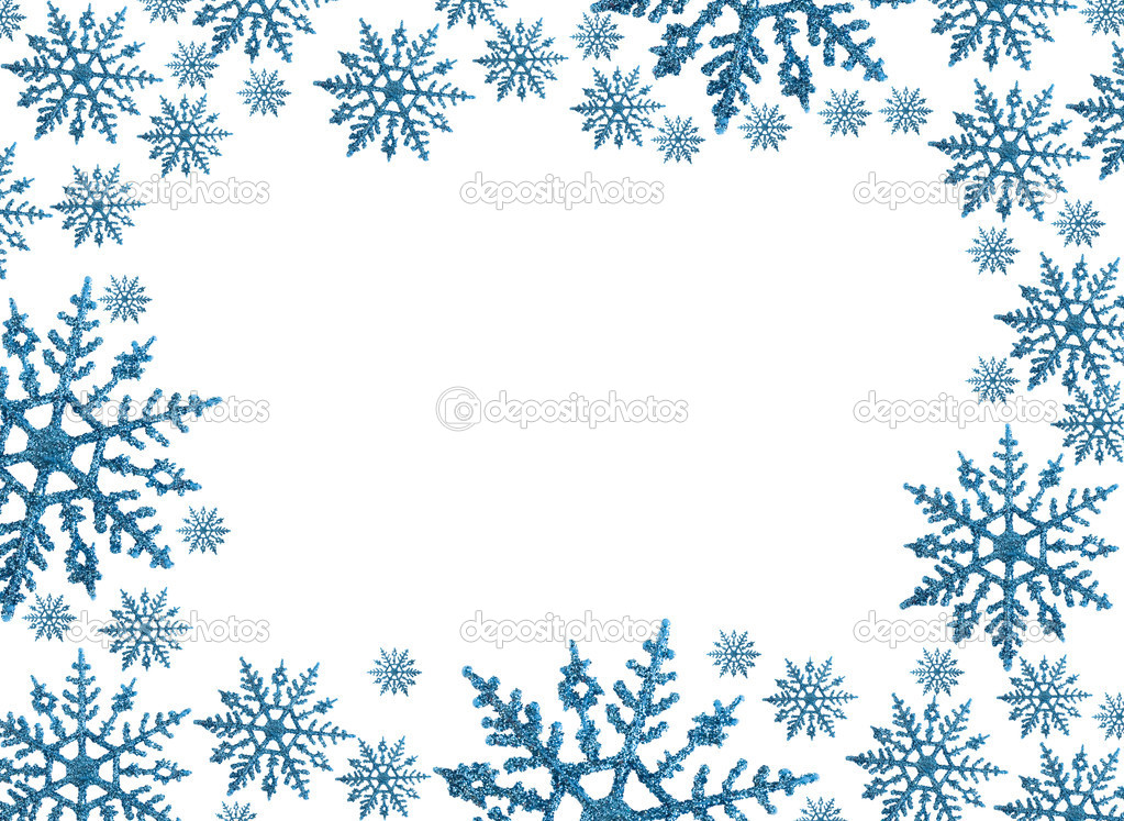 13 Best Images of Snowflake Border For Word Document.