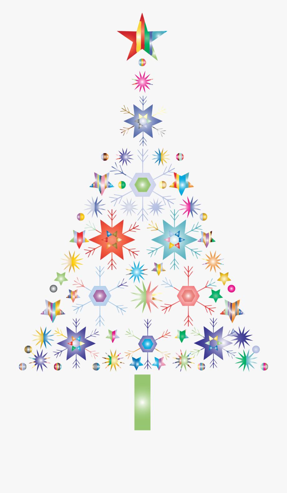 Christmas Snowflake Clipart.