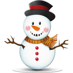 Christmas clipart: Snowmen, Stockings, Rocking Horse.