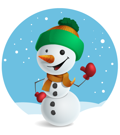 Free to Use & Public Domain Snowman Clip Art.