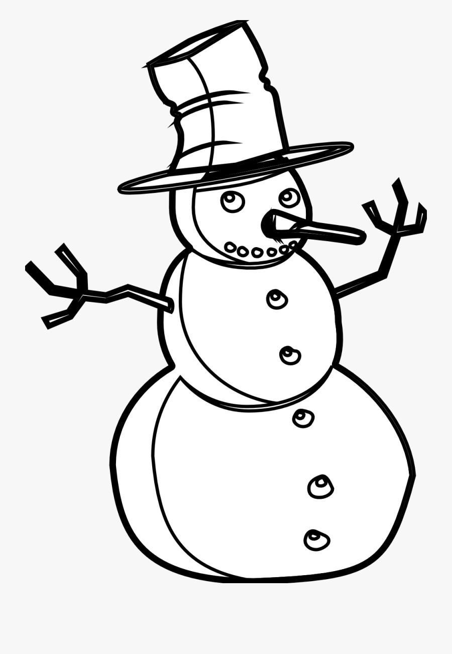 Snowman Black And White Snowman Black And White Christmas.