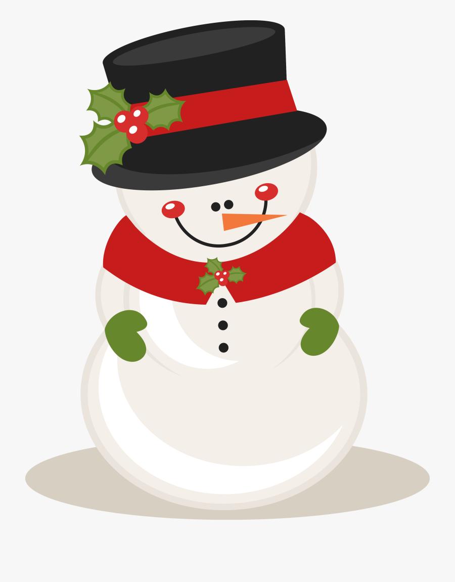 Cute Christmas Snowman Clipart , Free Transparent Clipart.