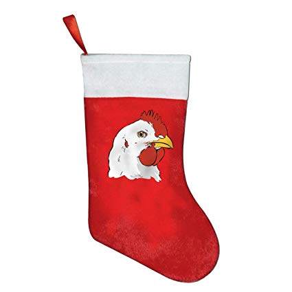 Amazon.com: Chicken Clipart Face Novelty of Fashion Christmas.