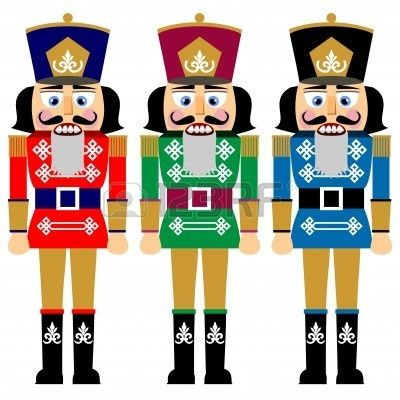 Christmas Toy Soldier Clip Art Toy soldier : set of.