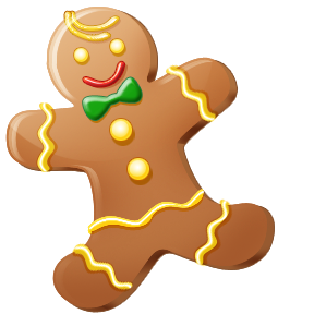 Gingerbread man free cookie clip art borders as well as free.