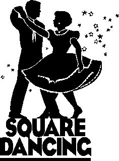 christmas square dance clipart #10