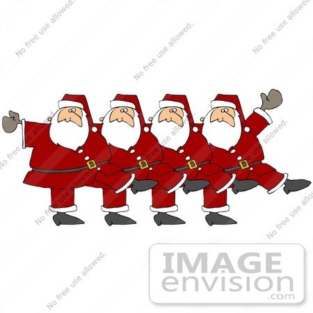 Free Christmas Dance Clipart.