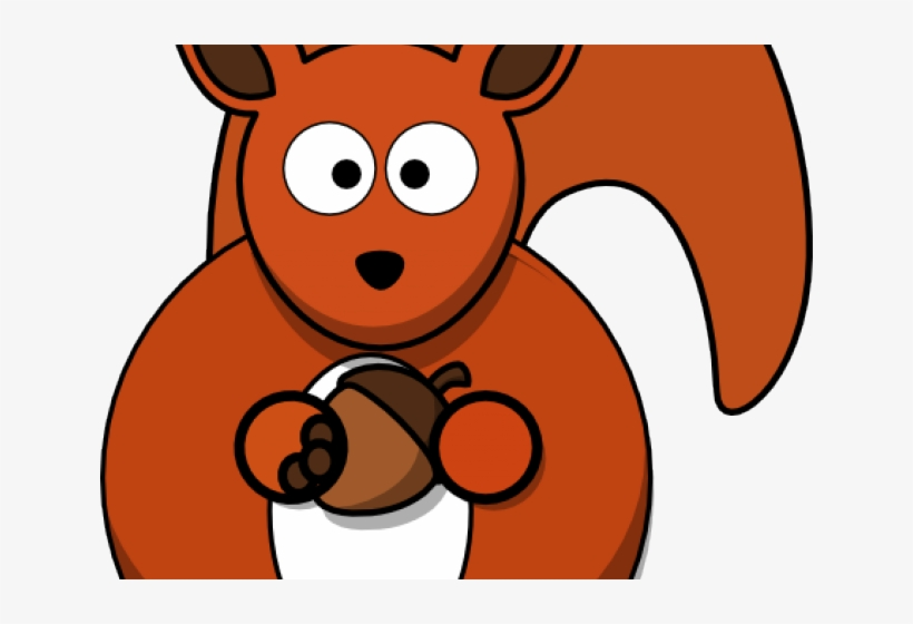 Red Squirrel Clipart Christmas.
