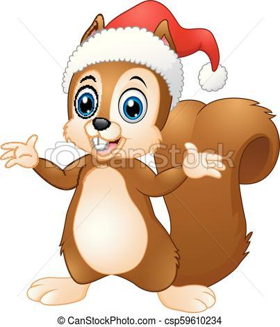Christmas squirrel clipart 2 » Clipart Portal.