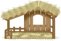 Christmas Stable Clipart (95+ images in Collection) Page 2.