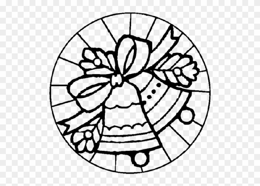 Christmas Stained Glass Coloring Page Christmas Stained.