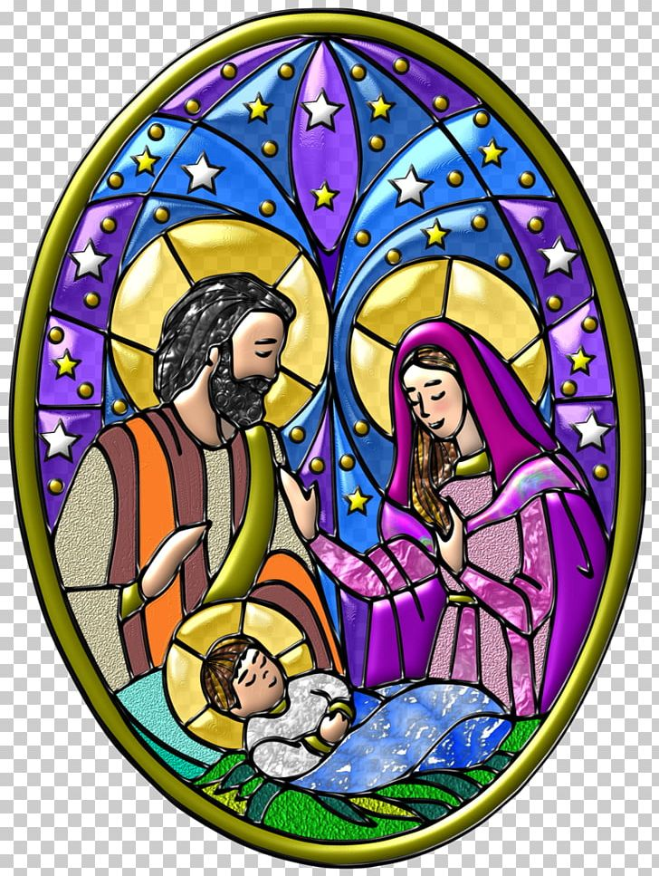 Stained Glass Manger Christmas PNG, Clipart, Art, Artwork, Biblical.