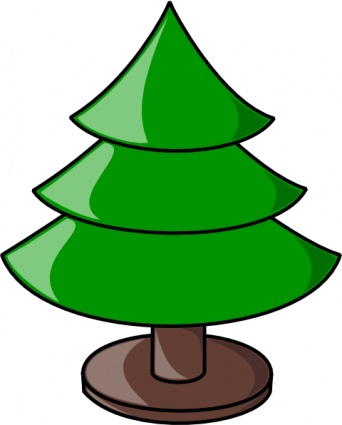 Christmas tree stand clipart.