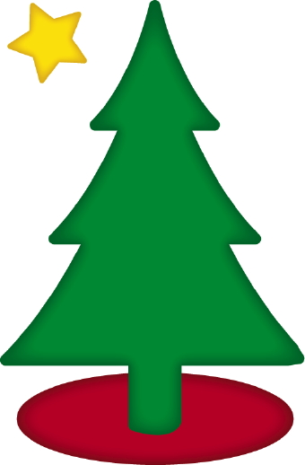 Christmas tree base clipart.