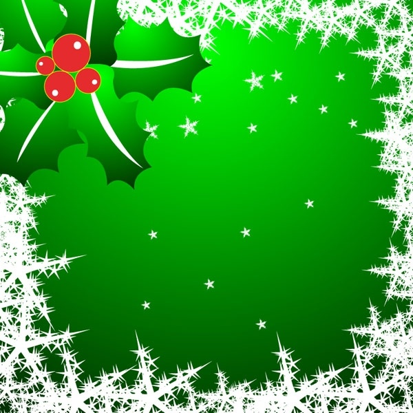 Christmas star snowflake border clip art Free vector in.