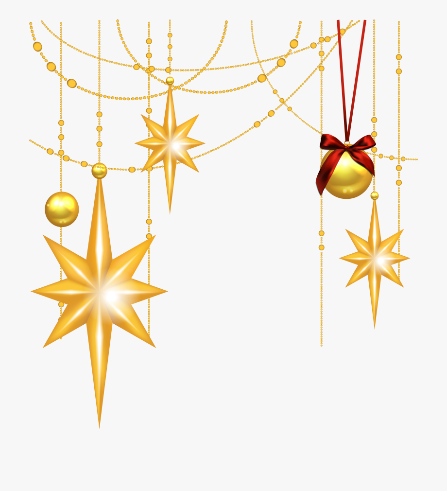Free Christmas Star Clip Art Graphics.