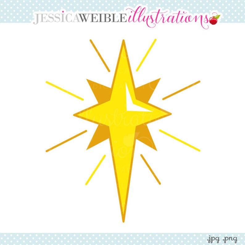 Nativity Star Cute Digital Clipart, Star Clip art, Christmas Star,  Christmas Graphics, Nativity Illustration, #665.