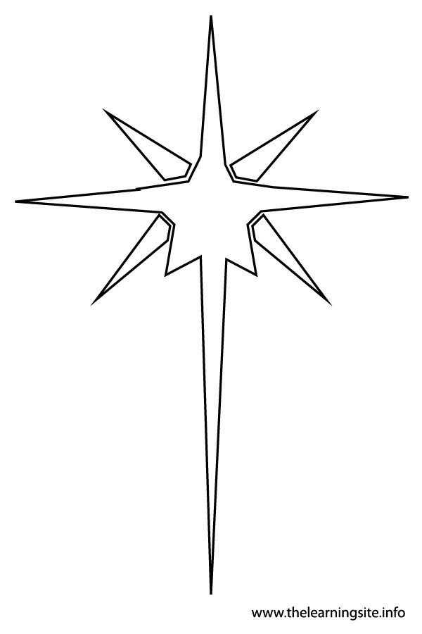Star outline images the learning site clipart.