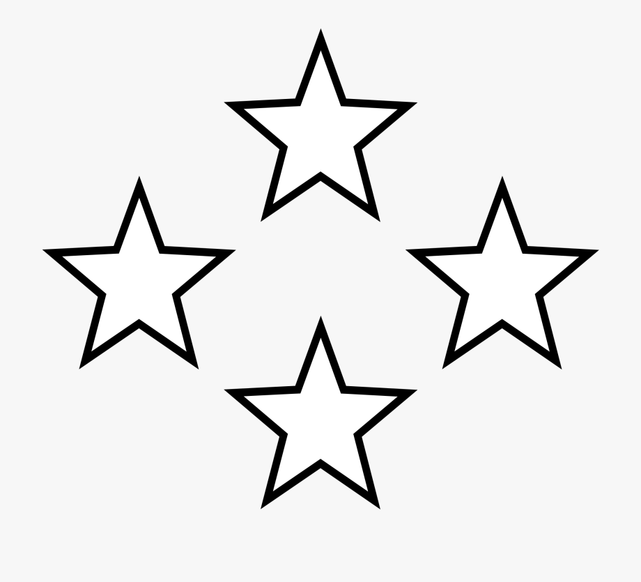 Star Clipart Black And White.