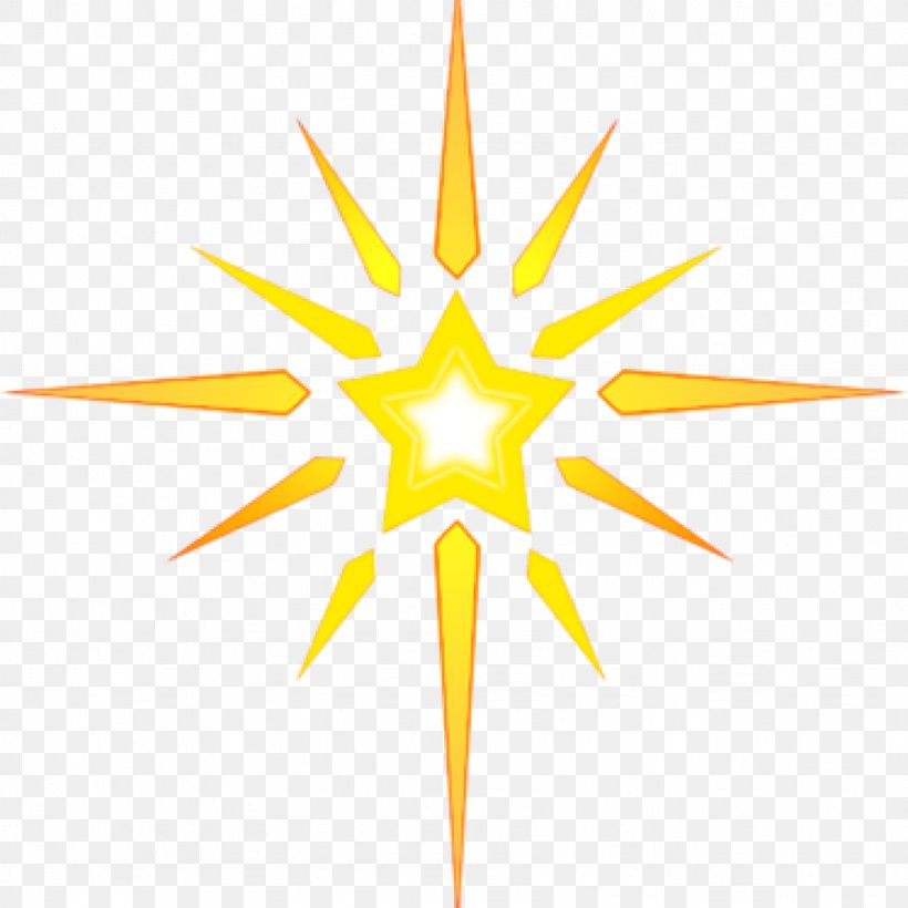 Clip Art Christmas Star Of Bethlehem Christmas Day Image.