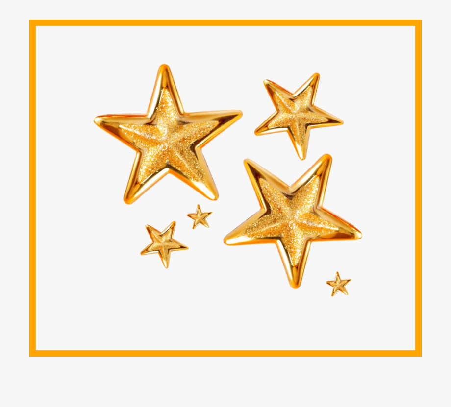 Stars Clipart On Transparent Background.