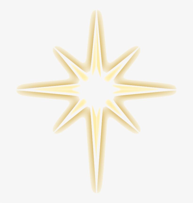 Christmas Gold Star Png Image.